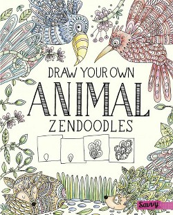 Draw Your Own Animal Zendoodles (Library) (Abby Huff)