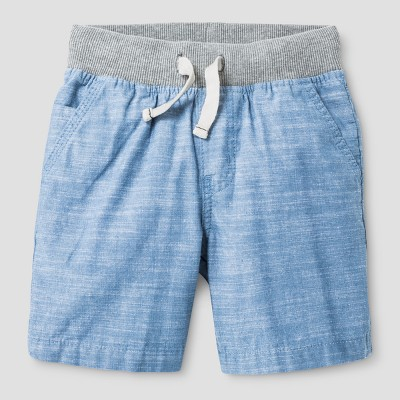 Baby Boys' Pull-on Shorts Cat & Jack™ Chambray 12 M