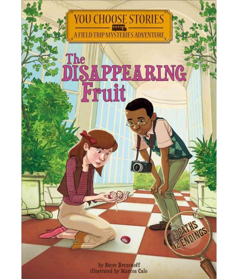 Disappearing Fruit : An Interactive Mystery Adventure (Library) (Steve Brezenoff) - image 1 of 1