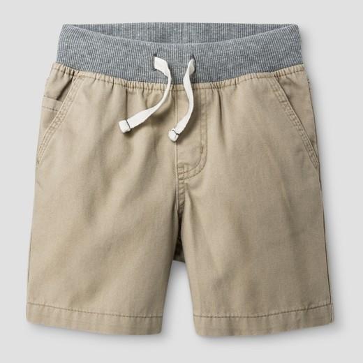 Toddler Boys' Pull-on Shorts - Cat & Jack™ Khaki : Target
