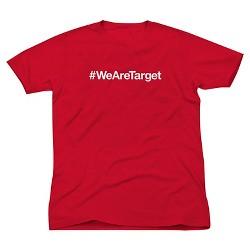 Adult #WeAreTarget T-shirt