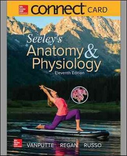 Seeley's Anatomy & Physiology McGraw-Hill Connect Access Code (Hardcover) (Cinnamon Vanputte)