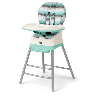 Chicco Stack 3 in 1 High Chair - Mod Mint