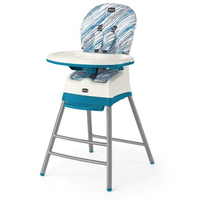 Chicco Stack 3 in 1 High Chair -Icicle
