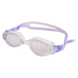 C9 Champion® Adult Curved Lens Goggle - Clear/Purple (Small/Medium)
