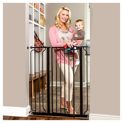 Regalo® Easy Step Extra Tall Baby Gate Black