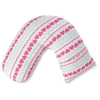 aden by aden + anais nursing pillow cover, light hearted