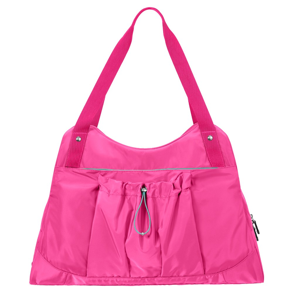 BG by Baggallini Motivate Yoga Tote - Magenta (Pink), Womens