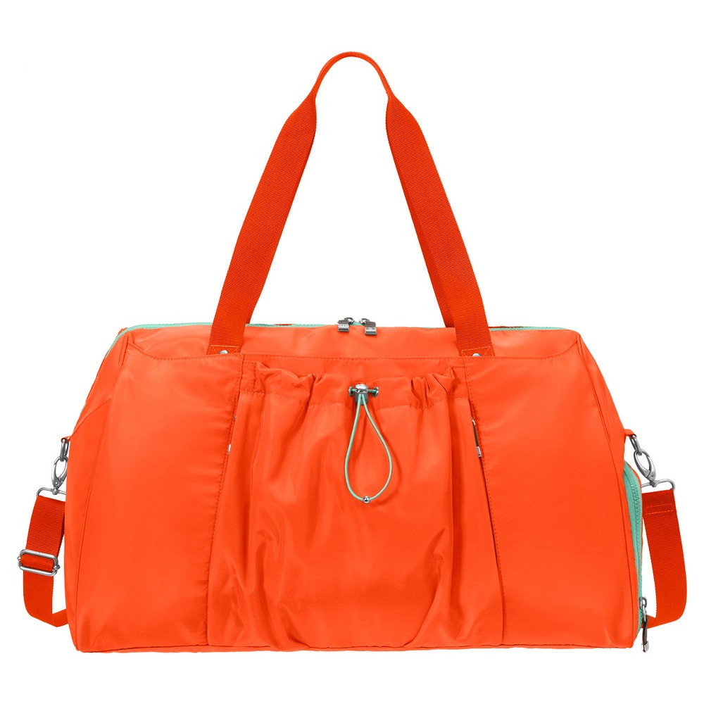 BG by Baggallini Step To It Yoga Duffle - Tangerine (Orange)