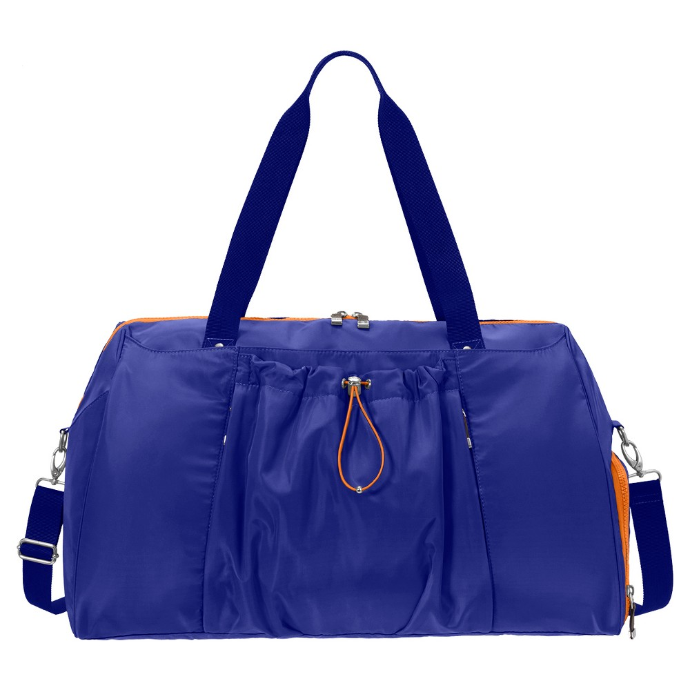 BG by Baggallini Step To It Yoga Duffle - Cobalt (Blue)