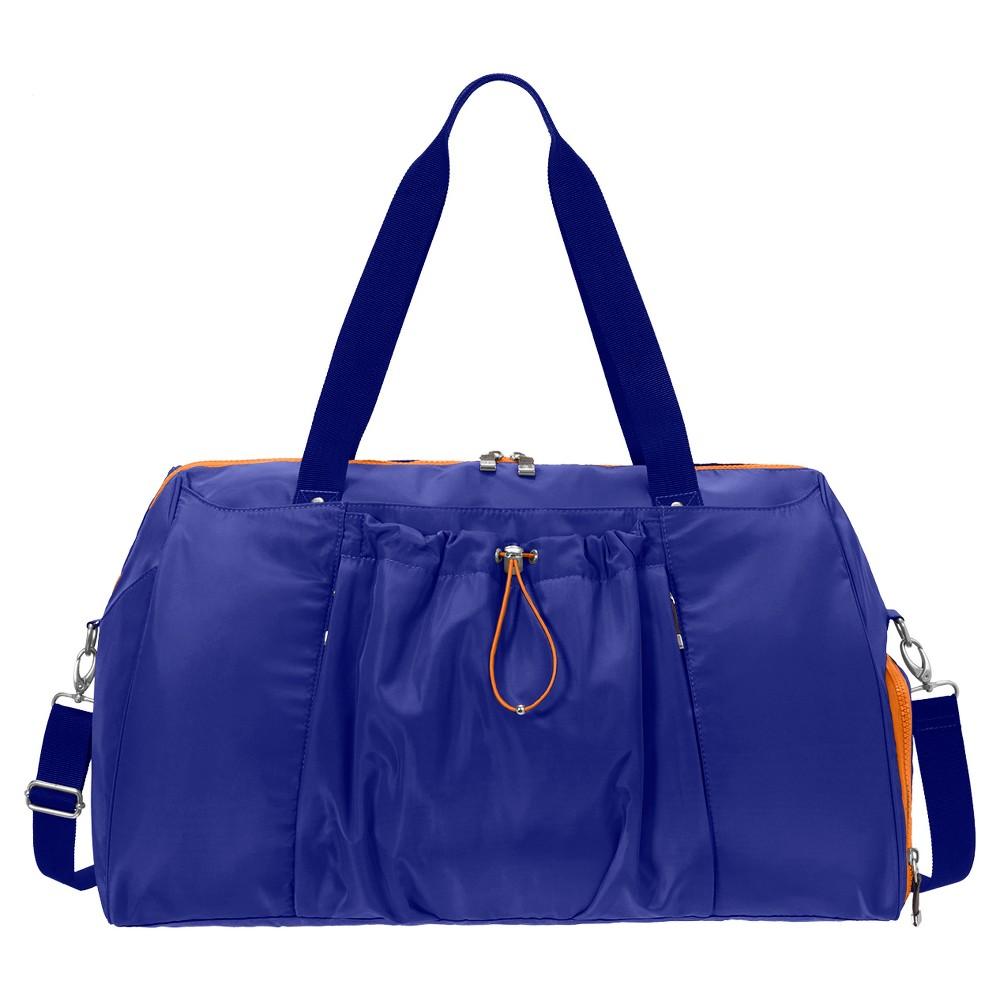 BG by Baggallini Step To It Yoga Duffle - Cobalt (Blue)