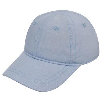 Baby Boys' Denim Panel Baseball Hat Cat & Jack™ - Blue 12-24M