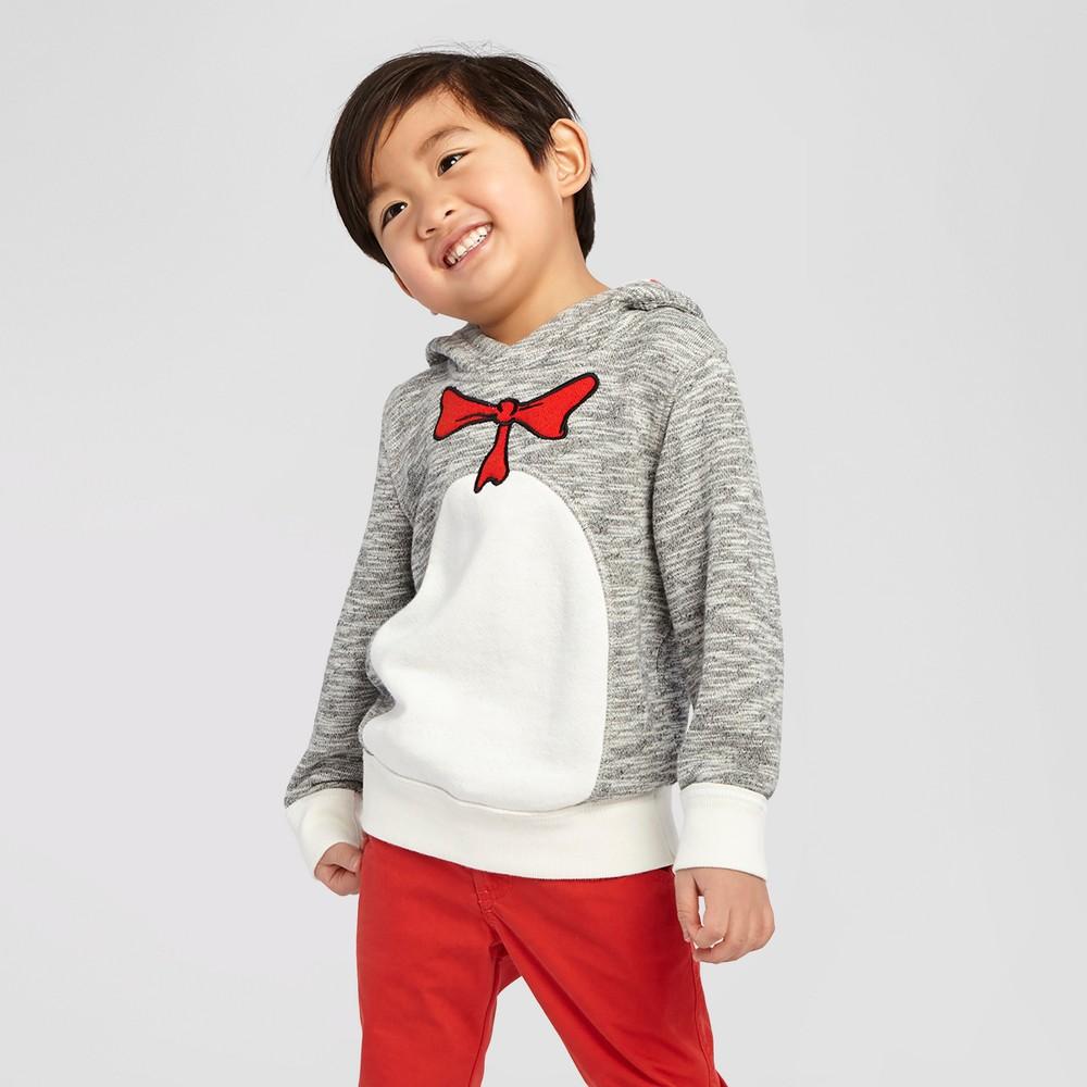 Dr. Seuss Baby Boys' Sweatshirt Heather Grey 18 M, Infant Boy's, Gray