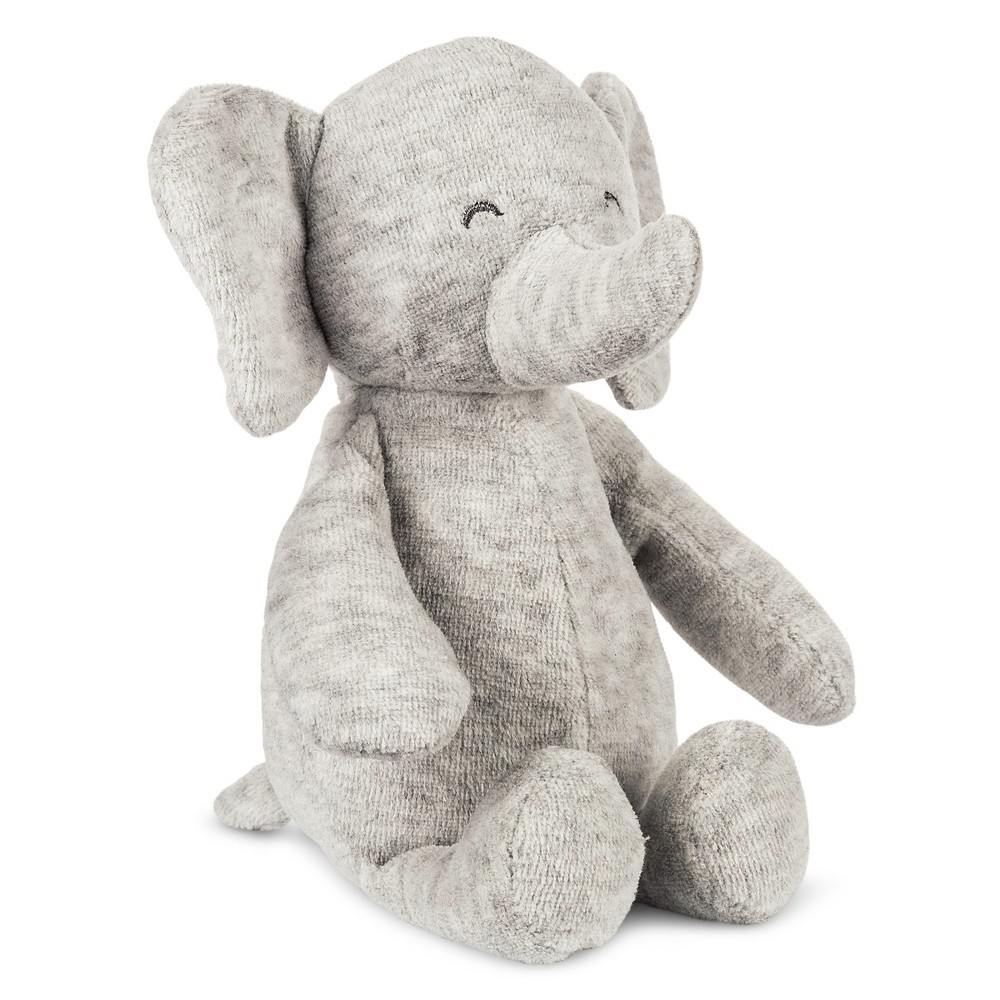 Babys' Plush Knit Elephant -Precious Firsts Made by Carter's, Gray