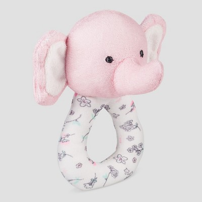 Babys' Elephant Loop Rattle -Precious Firsts™ Made by Carter's®
