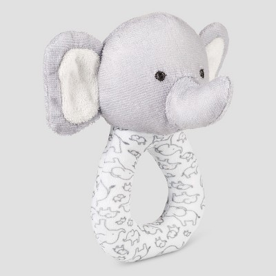 Babys' Elephant Terry Rattle -Precious Firsts™ Made by Carter's®