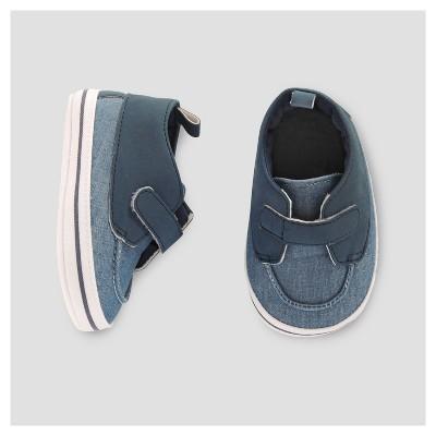 Baby Boys' Chambray Boat Shoe -Cat & Jack™ Turquoise 3-6M
