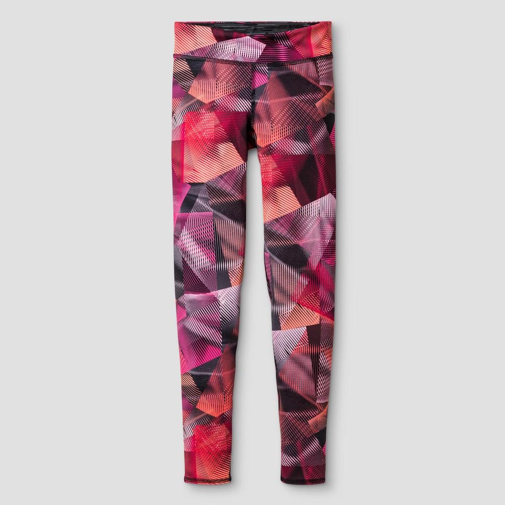 Girls Premium Reversible Leggings - C9 Champion Coral (Pink) XS