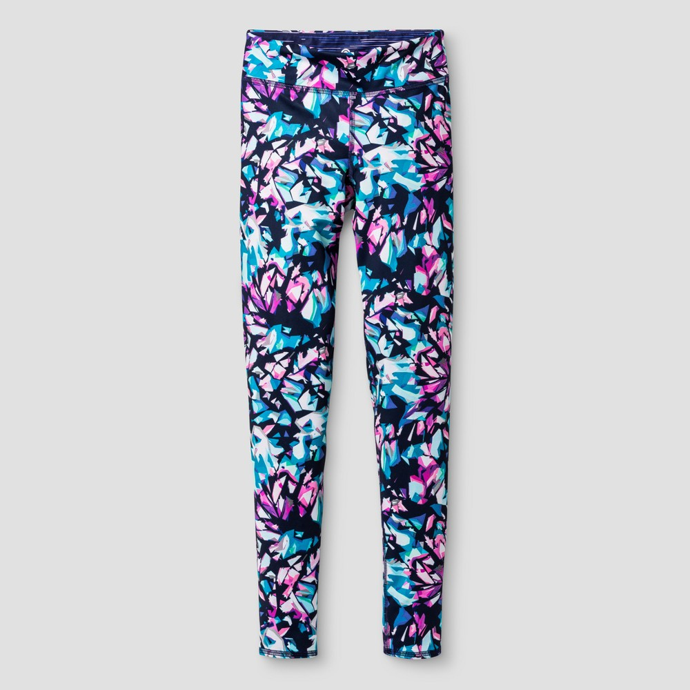 Girls Premium Reversible Leggings Print - C9 Champion XL, Multi-Colored