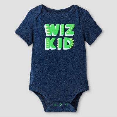 Baby Boys' Wiz Kid Bodysuit Cat & Jack™ - Navy 0-3 Months