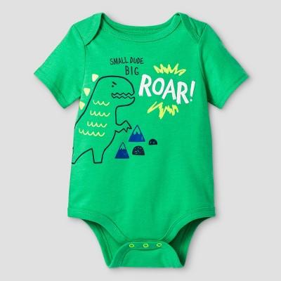 Baby Boys' Big Roar Bodysuit Cat & Jack™ - Green 3-6 Months