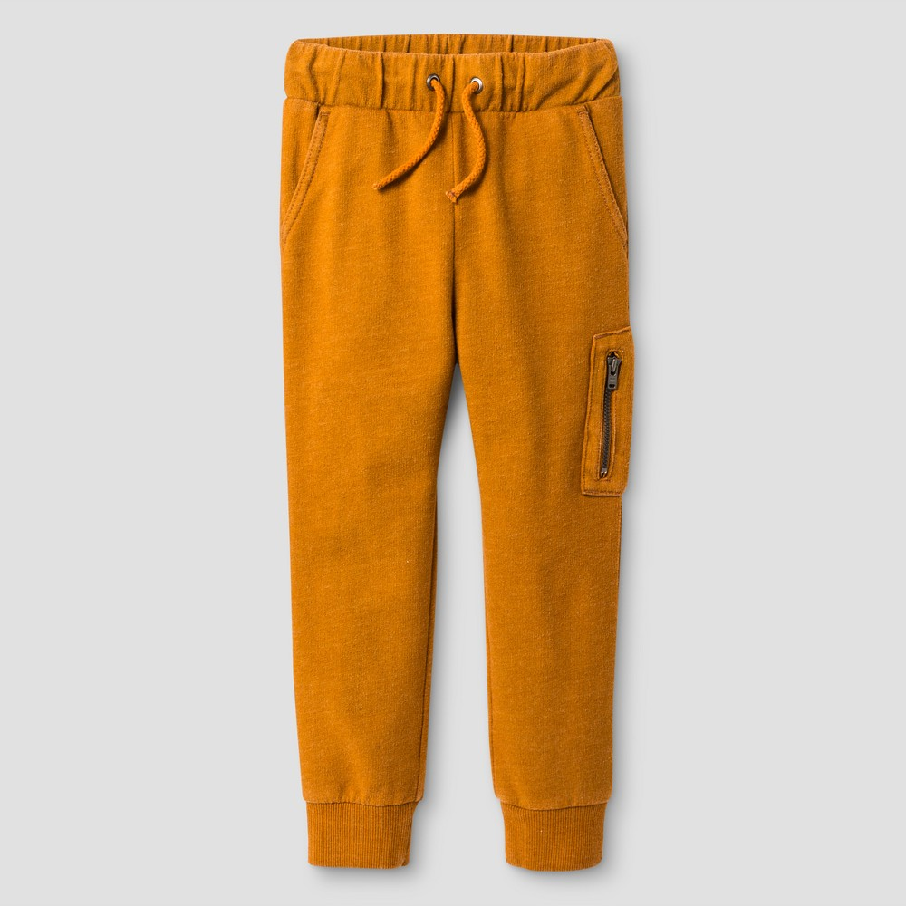 Baby Boys Lounge Pants Genuine Kids from OshKosh Sedona Rust 12M, Size: 12 M, Orange