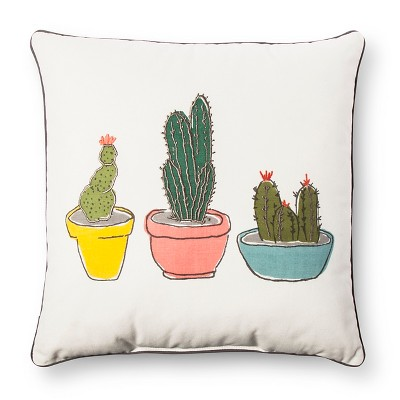 Cactus Throw Pillow - Room Essentials™