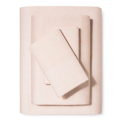 Sheet Set (King)Breezy Peach Hash - Nate Berkus™
