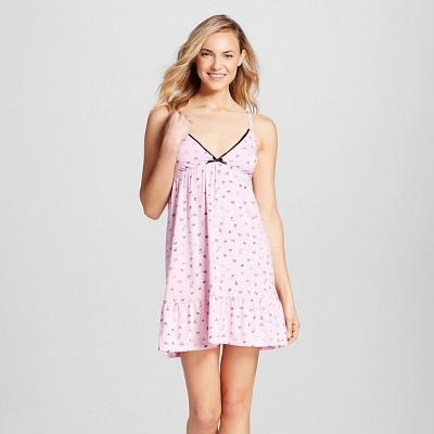 Women's Knit Chemise - Xhilaration™ - Pink L
