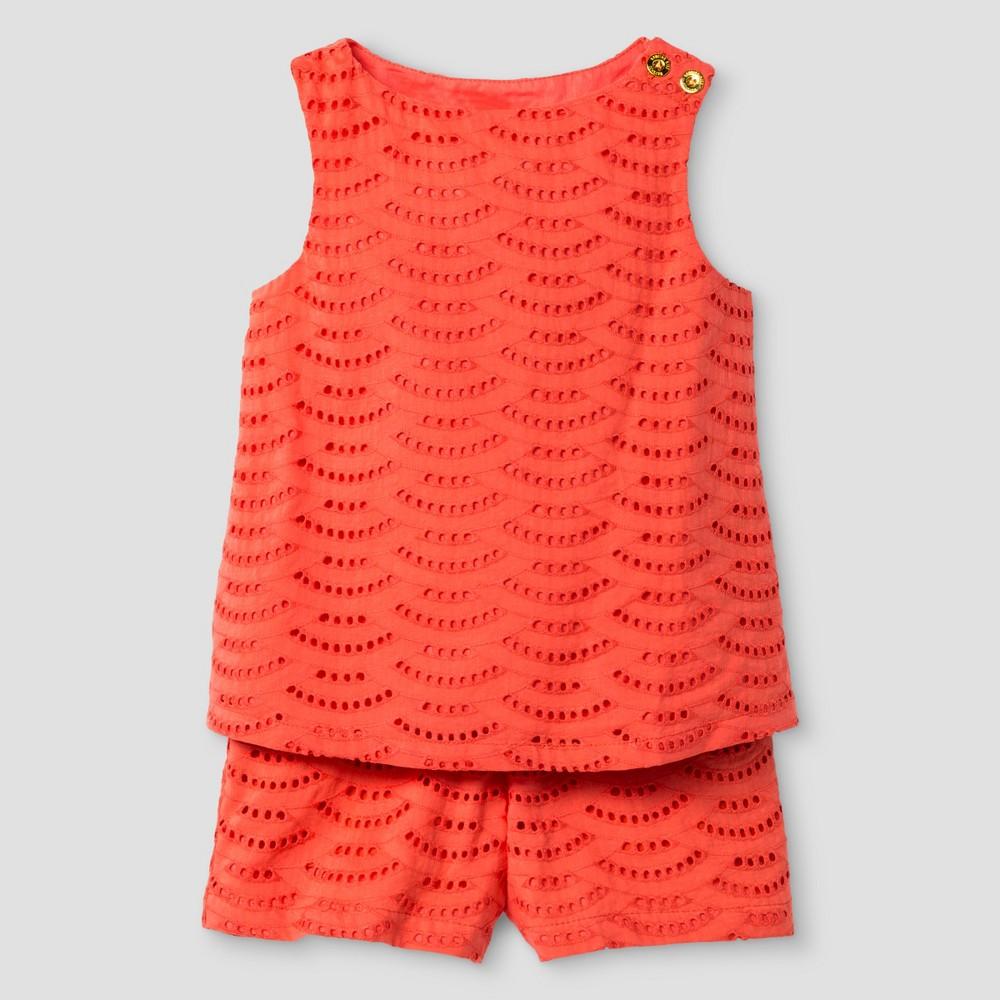 Toddler Girls' Top And Bottom Set Genuine Kids from OshKosh Cabana Orange 2T, Toddler Girl's, Pink