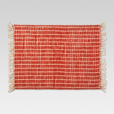 Orange Leno Weave Kitchen Textiles Placemat - Threshold™