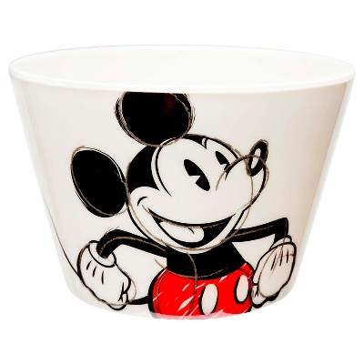 Disney® Mickey Mouse Small 11oz Melamine Bowl Red and White