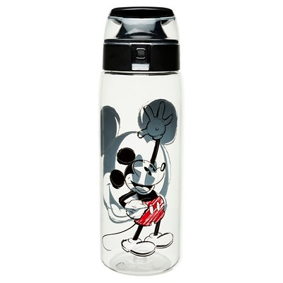 Disney® Mickey Mouse 25oz Plastic Tritan Water Bottle Black
