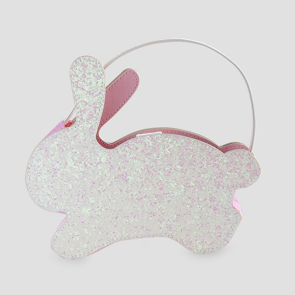Toddler Girls Sparkle Rabbit Clutch - Cat & Jack White