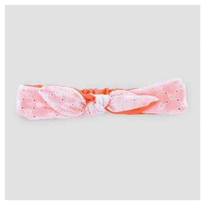 Toddler Girls' Bow Headwrap Cat & Jack™ - Coral