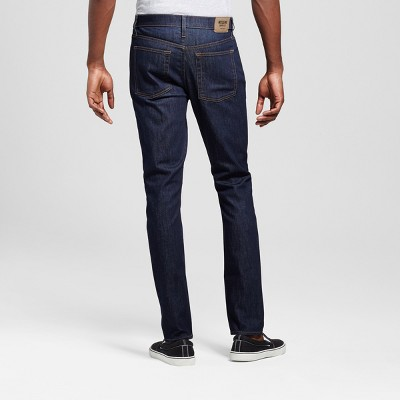 Men's Skinny Fit Jeans - Mossimo Supply Co. Dark Rinse Wash Blue