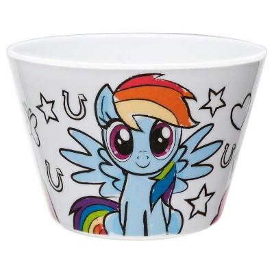 My Little Pony Small 11oz Melamine Bowl Blue