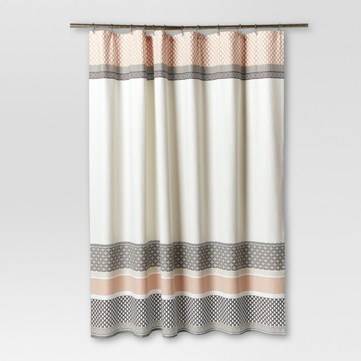 tan striped shower curtain. Pattern Stripe Shower Curtain  72 x72 Gray Threshold Target