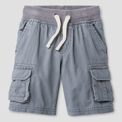Baby Boys' Cargo Shorts Cat & Jack™ Proper Gray 18 M