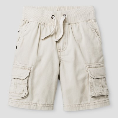 Baby Boys' Cargo Shorts Cat & Jack™ Oyster 12 M