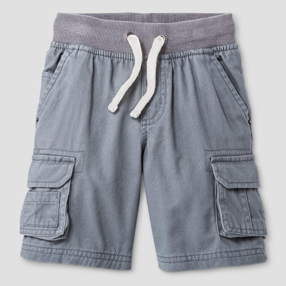 Baby Boys Cargo Shorts Cat & Jack Proper Gray 12 M