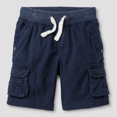 Baby Boys' Cargo Shorts - Cat & Jack™ Navy