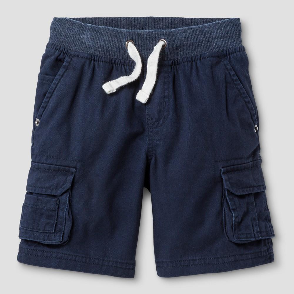 Baby Boys Cargo Shorts - Cat & Jack Navy, Size: 18 M, Blue