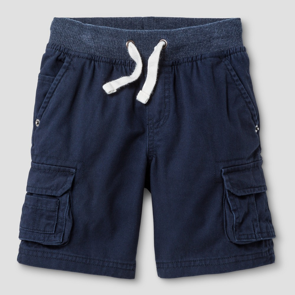 Toddler Boys Cargo Shorts - Cat & Jack Navy, Size: 2T, Blue