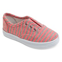 Toddler Girls' Peony Laceless Canvas Sneakers Cat & Jack - Pink. opens in a new tab.