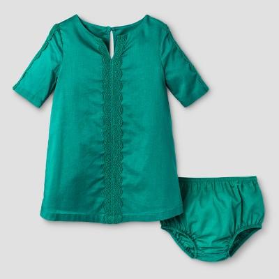 Baby Girls' Tunic Dress Genuine Kids™ from OshKosh® Mint Gel 12M