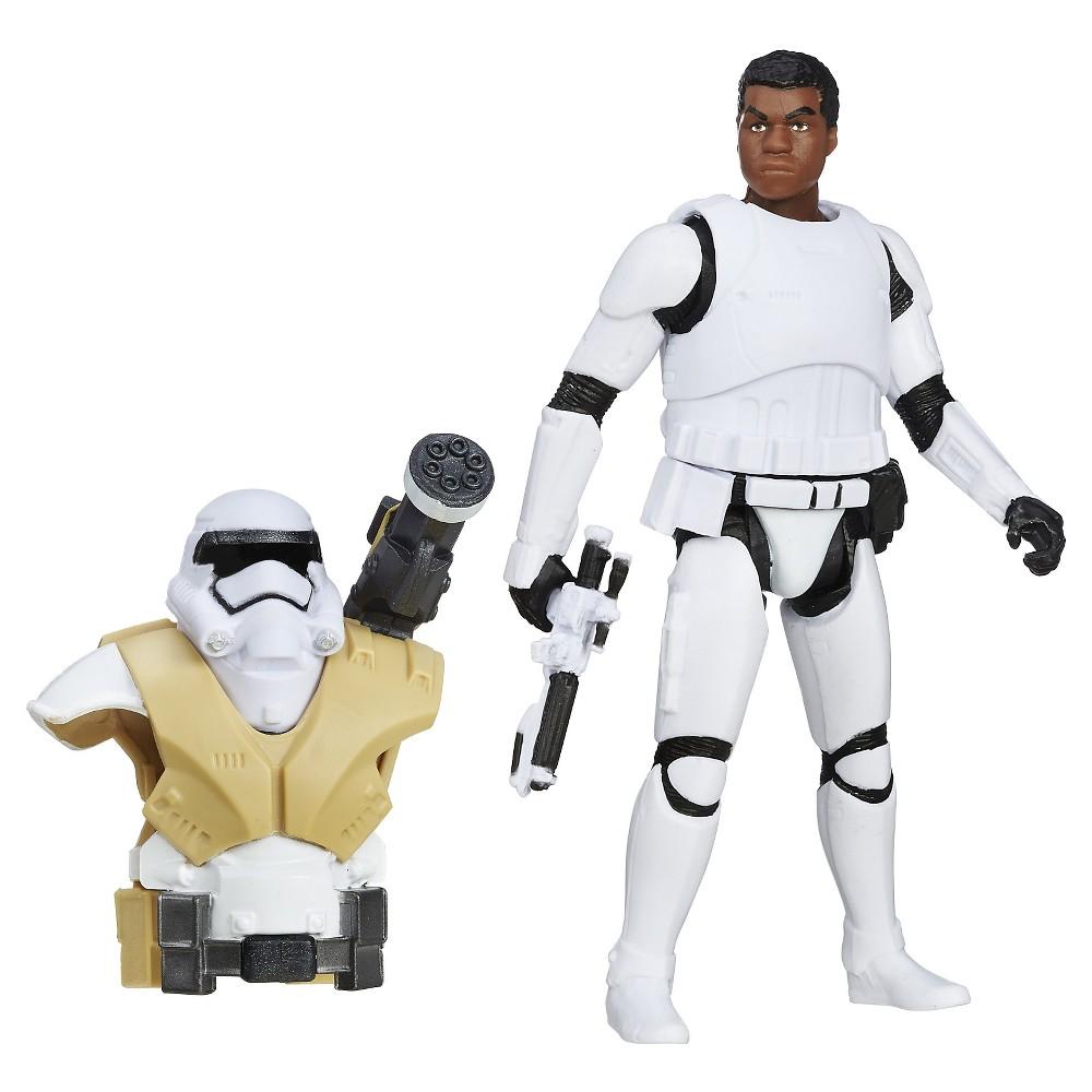 Star Wars The Force Awakens Desert Mission Armor Finn FN-2187 Action Figure 3.75