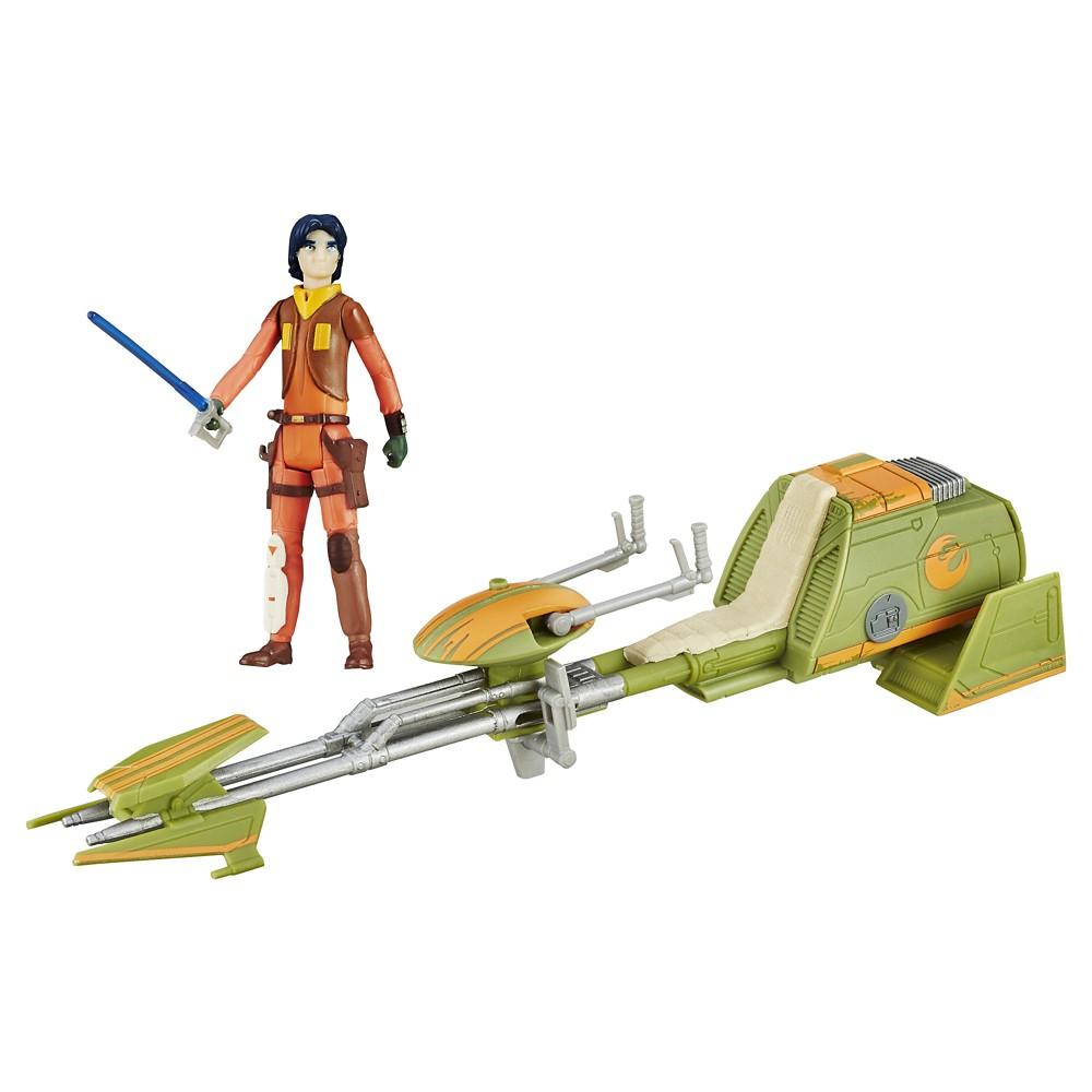 Star Wars Rebels Ezra Bridger's Speeder, Multicolored