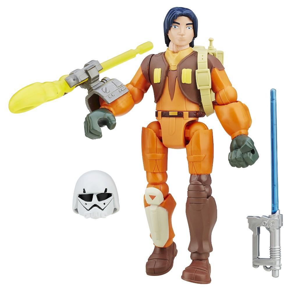 Star Wars Hero Mashers Rebels Ezra Bridger Deluxe Action Figure