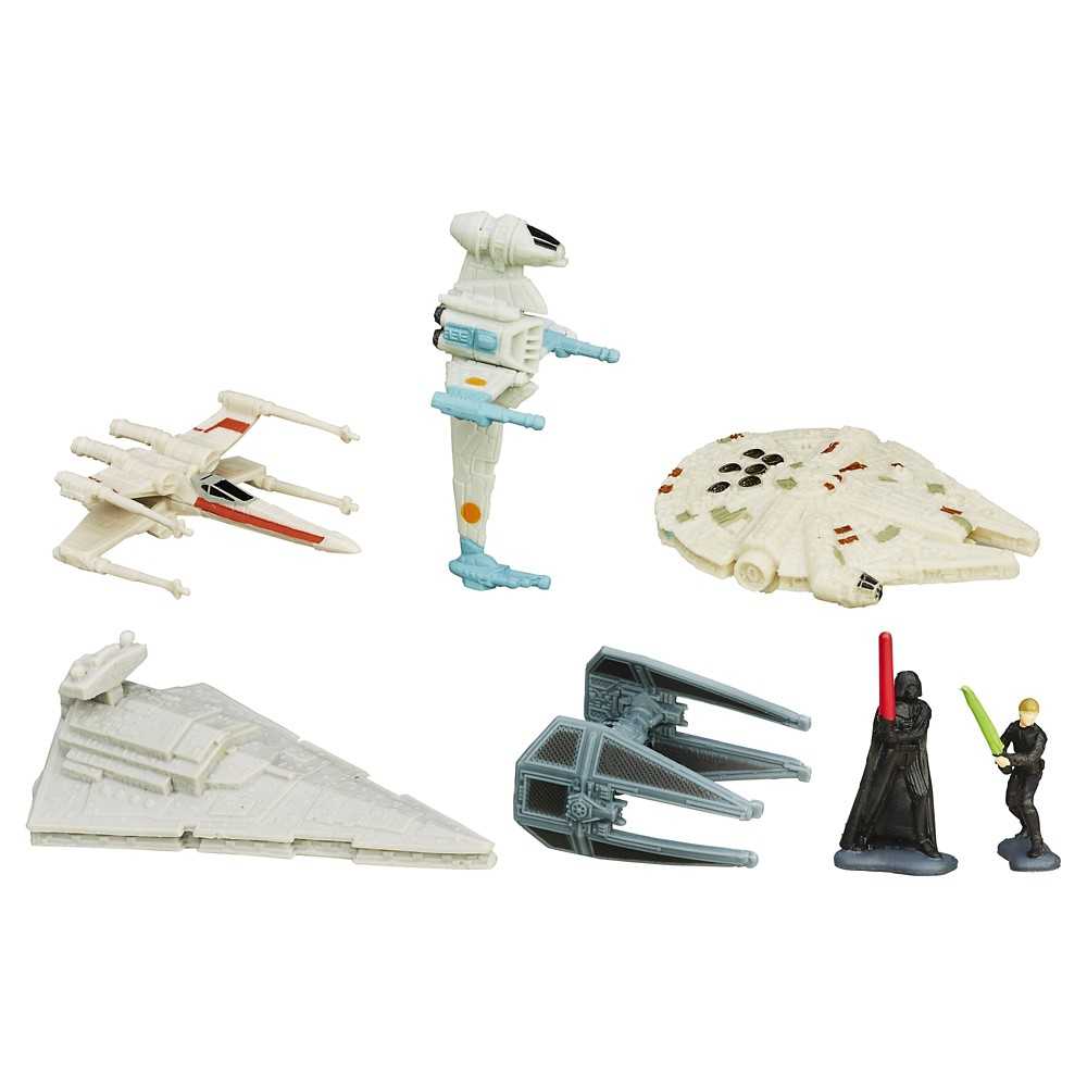 Star Wars Episode VI Micro Machines Deluxe Vehicle Pack Fall of the Empire, Multicolored